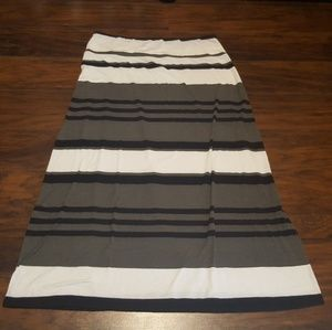 Mossimo Supply Co. Striped Maxi Skirt